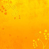 Deep Summer Orange Curly Background Texture — Stock Photo