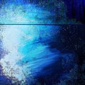 Ocean Blue Abstract Background Grunge Texture Design — Stock Photo