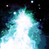 Abstract Nebula Space & Sky Series 2 — Stock Photo