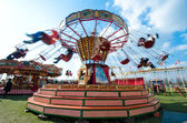 Small colourful carousel — Stock Photo