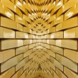 Gold Brick — Stock Photo