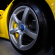 Carrera Gt weel - Stock Photo