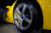 Carrera Gt weel — Stock Photo