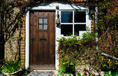 Front Cottage door — Stock Photo