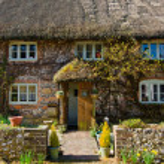 English Village Cottage — Stock Photo #24328167