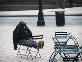 A homeless man in Atlanta, GA, USA — Stock Photo