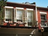 The French Style Balcony — Stock Photo