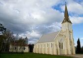 白い教会 evandale タスマニア — ストック写真