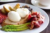 Breakfast Spanish and sumptuous — Stock Photo