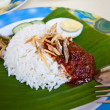 Royalty-Free Stock Photo: Malaysia coconut rice - nasi lemak