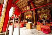 Typical chinese temple found in Asia — Foto Stock