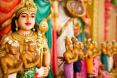 Inside an Indian temple in Malaysia — Stock Photo