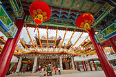 A typical chinese buddhist temple — Stock Photo