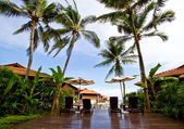 Tropical resort situated in Malayisa — Stock Photo
