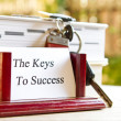 Keys to success — Stock Photo