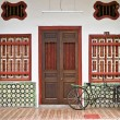 Stock Photo: Heritage old house in Penang