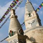 Swayambunath Stupa, Kathmandu, Nepal — Stock Photo #41775555
