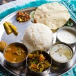 Stock Photo: Typical Nepalese Meal, Thali