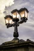 Lantern, Budapest, Hungary — Stock Photo