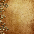 Metal pattern on vintage background - Stock Photo