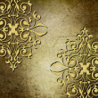 Metal pattern on vintage background  — Stock Photo