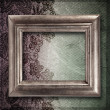 Old frame on elegant vintage background  — Stock Photo