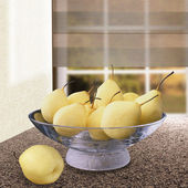 Fresh pears. — Stock Photo
