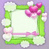 Baby card. — Stock Photo