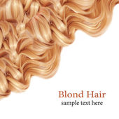 Blond Hair. — Stock Photo
