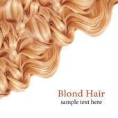Blond Hair. — Stock Photo