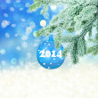New Year background.  — Stock Photo