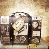 Vintage travel concept. — Stock Photo