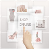 Online Shopping Concept. — Stock Photo