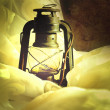 Stock Photo: Old lamp.