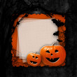 Halloween design card.  — Stock Photo