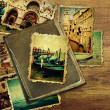 Vintage travel background — Stock Photo #32690841