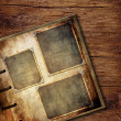 Vintage photo album.  — Stockfoto