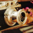 Old camera. — Stock Photo