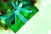 Noel hediye kartı — Stok fotoğraf