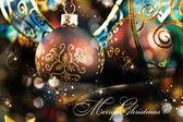 фон рождество — Стоковое фото