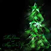Vánoční strom — Stock fotografie