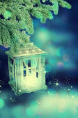 рождественский фонарь — Стоковое фото