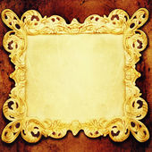Vintage frames on wall. — Stock Photo