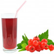 Currant juice — Stock Photo