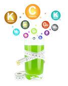 Kiwi juice — Stockfoto