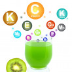 Постер, плакат: Kiwi juice