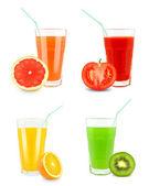 Fruit juices — Stock Photo
