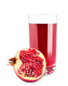 Pomegranate juice — Stock fotografie