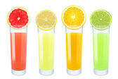 Citrus juices — Stock Photo
