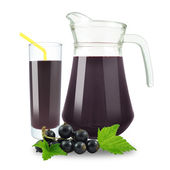 Blackcurrant juice — Stock Photo